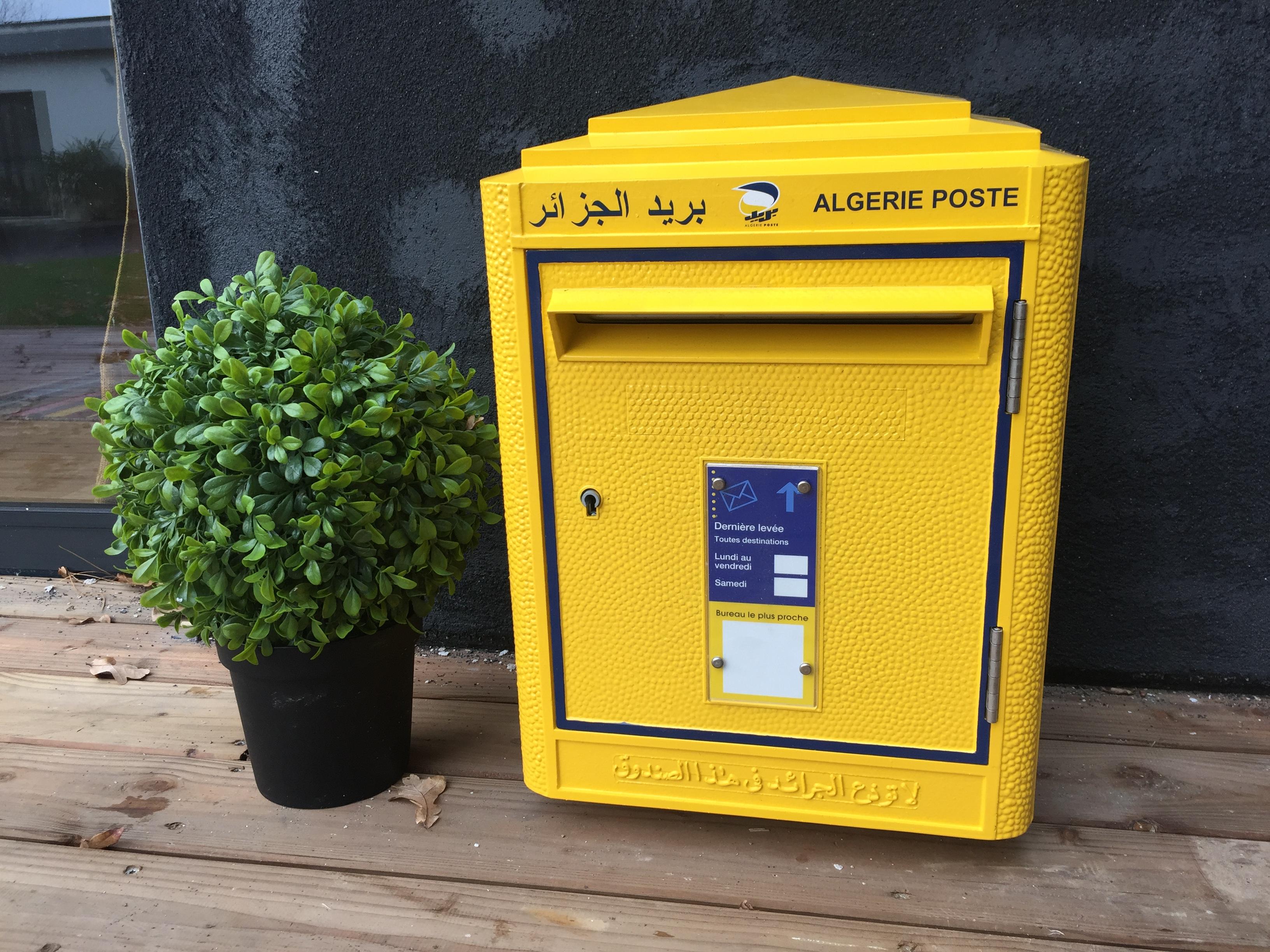 la boite jaune | boîte aux lettres originale algerienne