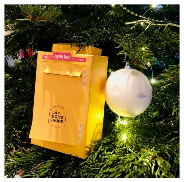 Boîte cadeau, boîte aux lettres modèle réduit en papier à offrir